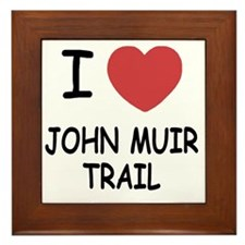 JOHN_MUIR_TRAIL Framed Tile