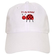 Ladybug Birthday Cap
