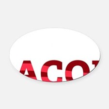 baconBetter01B Oval Car Magnet
