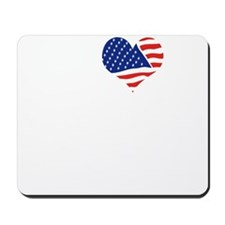 I LOVE NEW MEXICO - WHITE Mousepad