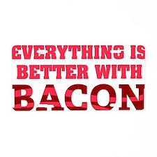 baconBetter01D Aluminum License Plate