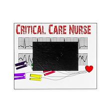 Critical Care Nurse EKG cables Picture Frame