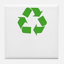 recycleGirlfr1B Tile Coaster