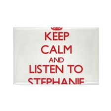 Keep Calm and listen to Stephanie Magnets