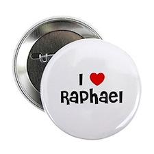 "I * Raphael 2.25"" Button (10 pack)"
