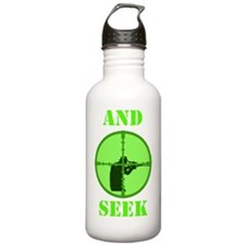 Art_sniper and seek co Water Bottle