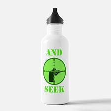Art_sniper and seek co Water Bottle