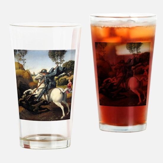 Saint George and the Dragon - Raphael Drinking Gla