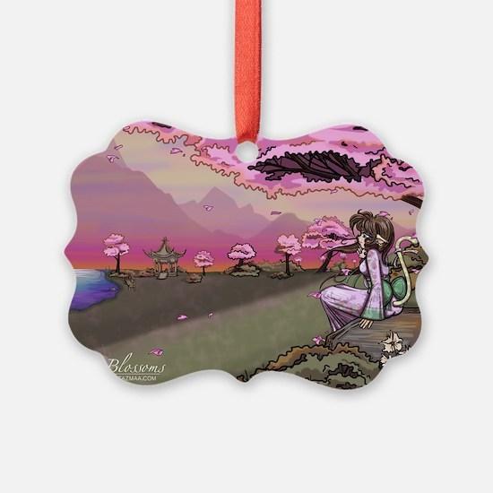 Anime Catgirl Art Inspirational G Ornament
