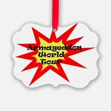 Armageddon World Tour/Front Ornament