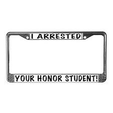 Honor Student License Plate Frame
