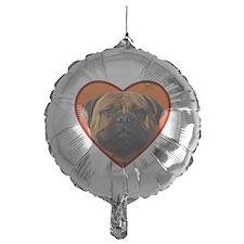 bullmastiff valentine Balloon
