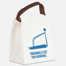 treadmillsNowhere1F Canvas Lunch Bag