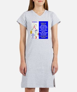 DONOT GO QUIETLY TY 2 Women's Nightshirt