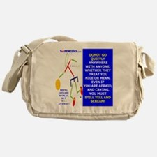 DONOT GO QUIETLY TY 2 Messenger Bag