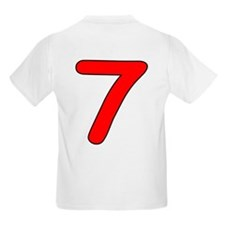 Age 7 Ladybug Birthday Kids T-Shirt