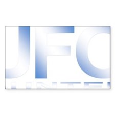 ufo hunter blue Decal