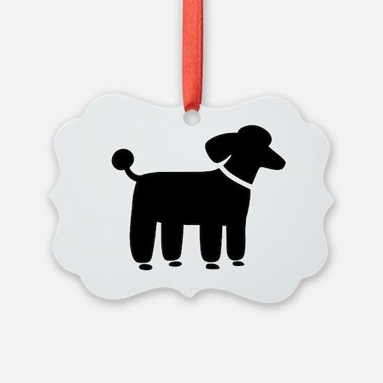 blackpoodle Ornament
