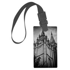 SLC Temple Spires Luggage Tag