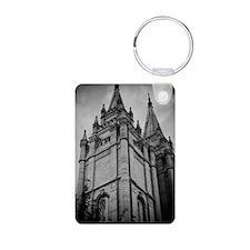 SLC Temple Spires Keychains