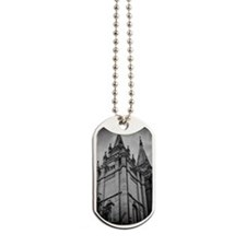 SLC Temple Spires Dog Tags