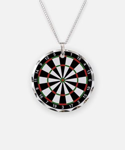 Dart Board Classic Necklace