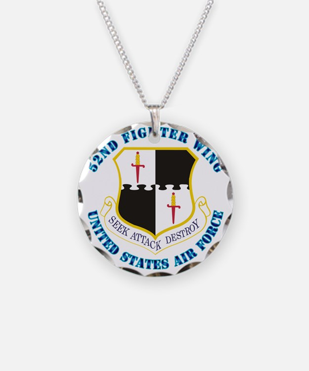 52ifighter-wing-txt Necklace