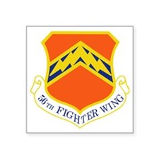 "56th-fighter-wing Square Sticker 3"" x 3"""