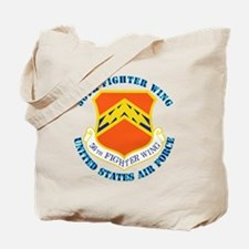 56th-fighter-wing-txt Tote Bag