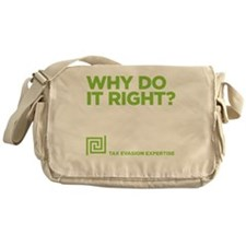 TAXEVASIONdrk Messenger Bag