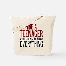HIREATEENAGER Tote Bag