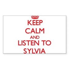 Keep Calm and listen to Sylvia Decal