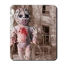 Scary Nigel doll Mousepad