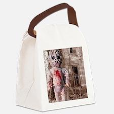 Scary Nigel doll Canvas Lunch Bag
