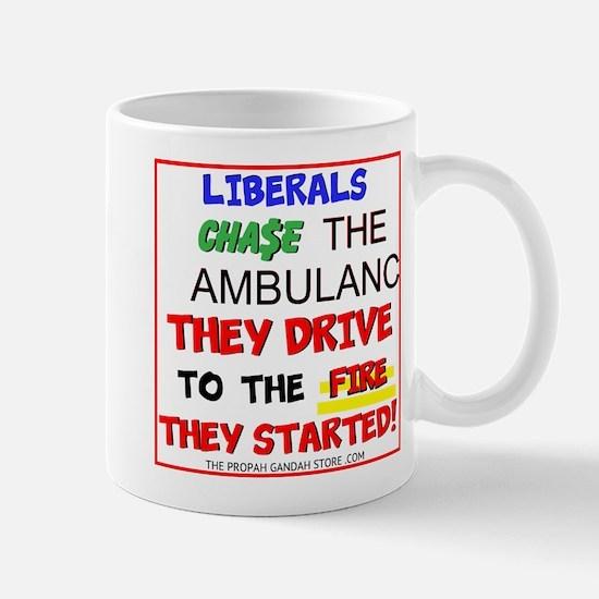 Liberals Chase The Ambulance Mugs