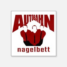 "Autobahn Square Sticker 3"" x 3"""