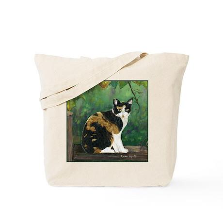Calico Cat Tote Bag