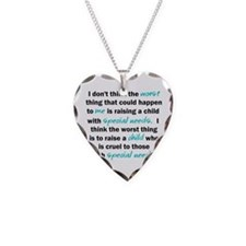 I dont think the worst thing Necklace