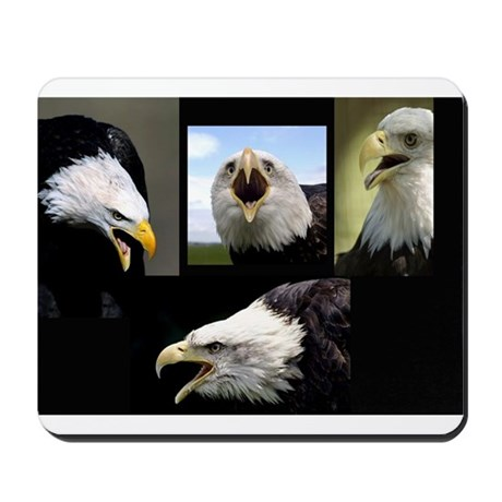 The Bald Eagle Mousepad