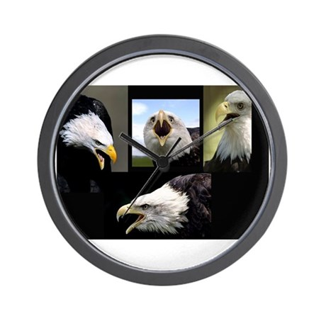 The Bald Eagle Wall Clock