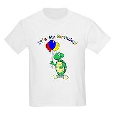 Age 7 Turtle Birthday Kids T-Shirt