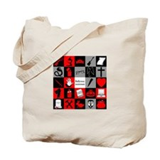 Five by Five (Buffyverse in aeternum) Tote Bag