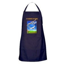 SkySurfer Id rather be flying Apron (dark)