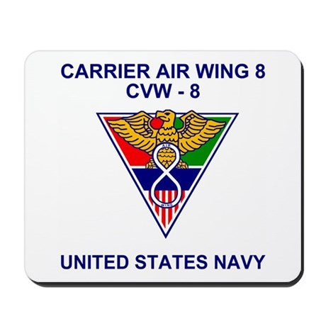 Carrier Air Wing 8<BR>Mousepad