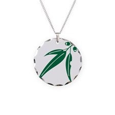 logo_leaf_heritagegreen Necklace