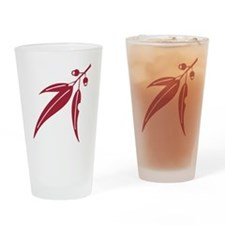logo_leaf_waratah Drinking Glass