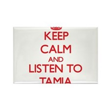 Keep Calm and listen to Tamia Magnets