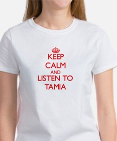 Keep Calm and listen to Tamia T-Shirt