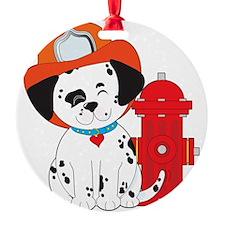 Dalmation Fire Dog Ornament