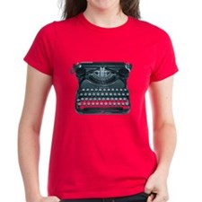 antique typewriter Tee